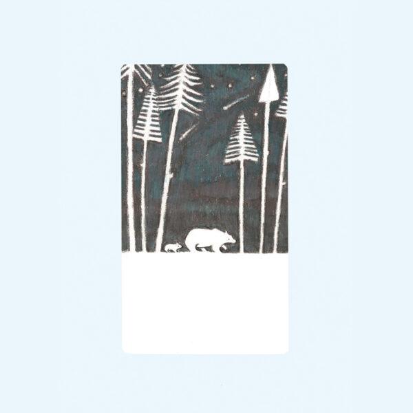onderweg beren bos