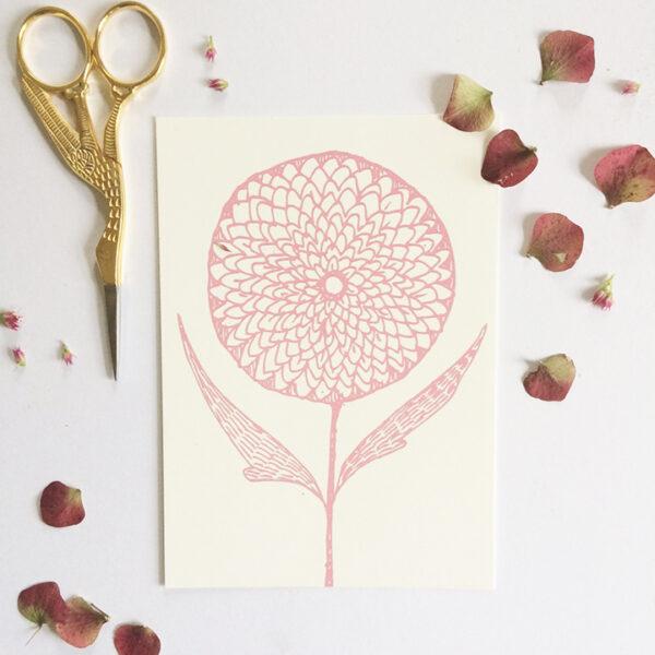 Modern botanics pink
