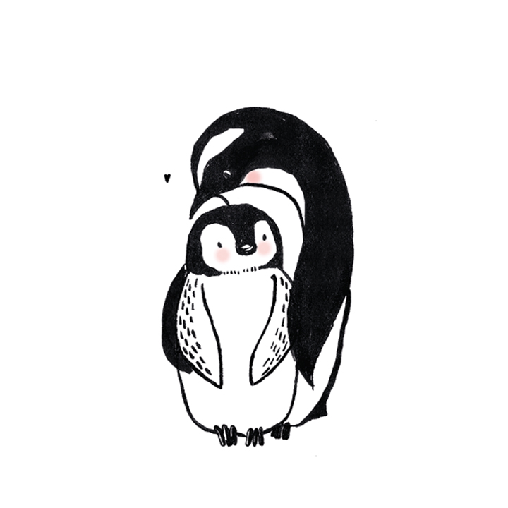 pinguin love