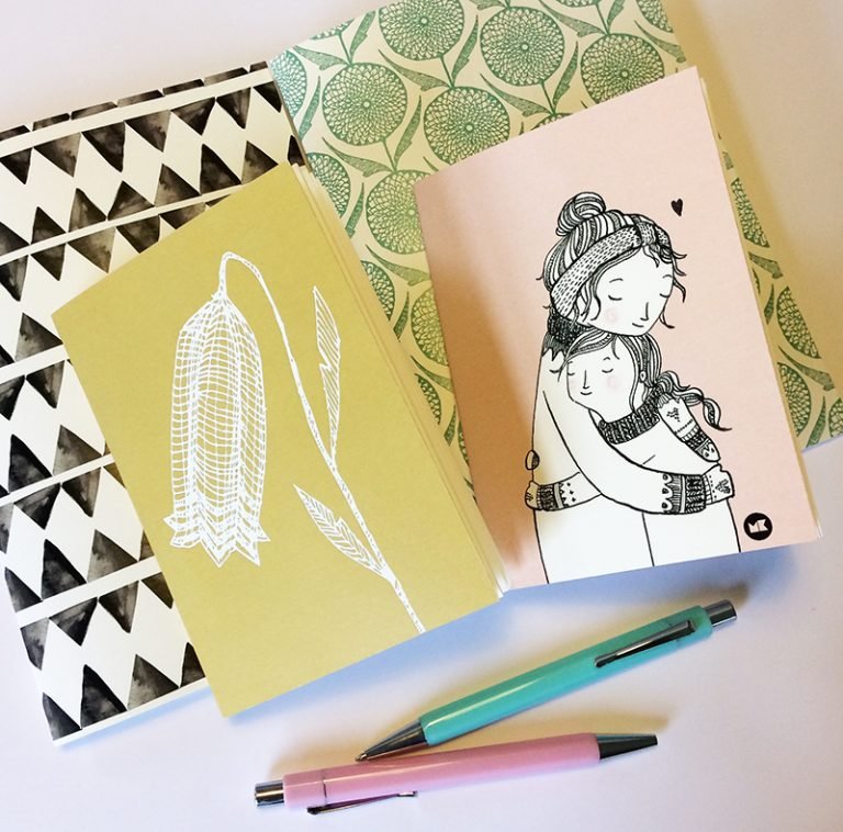notebooks assorti