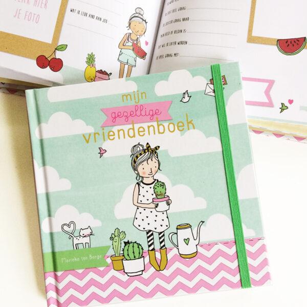 vriendenboekje meisjes gezellig