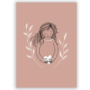 zwangerschap kaartje