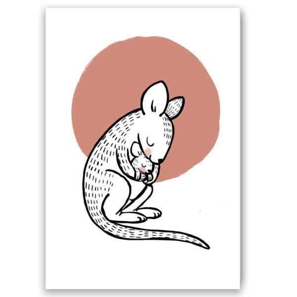 kangaroo kaartje