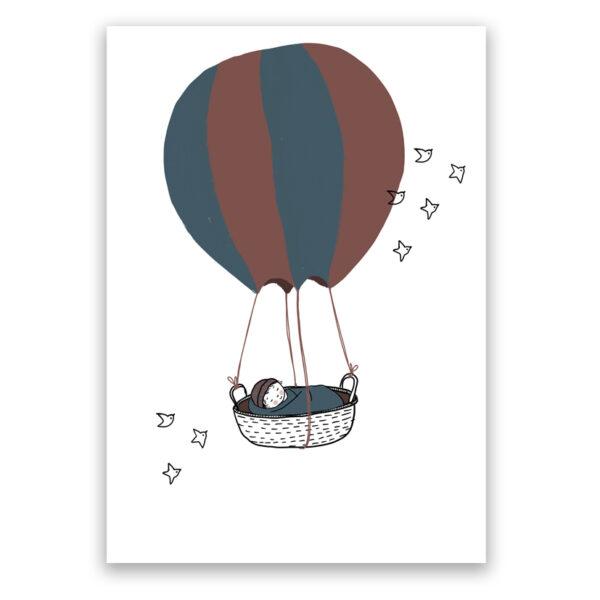 luchtballon wiegje